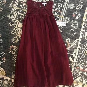 Dresses & Skirts - Maroon maternity dress